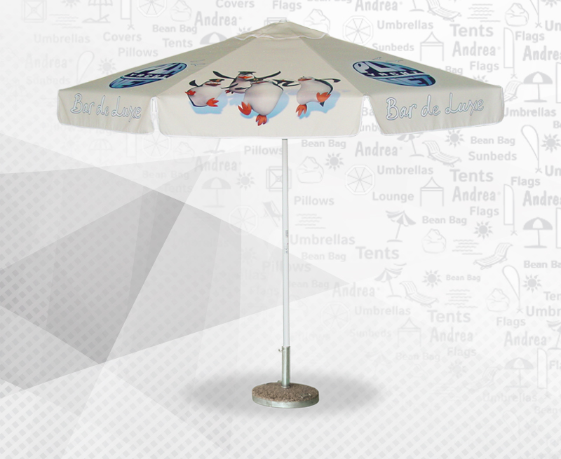 digital printed textile / umbrella / beanbag / POS