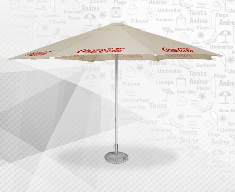 digital printed textile / umbrella / beanbag / POS